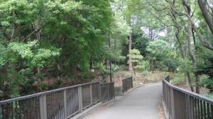 平和な公園内