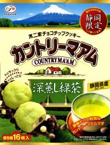 カントリーマアム 深蒸し緑茶