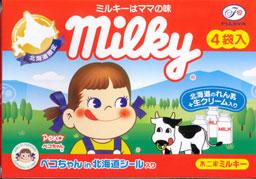 ミルキー れん乳+生クリーム_