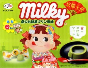ミルキー 京のお抹茶プリン風味